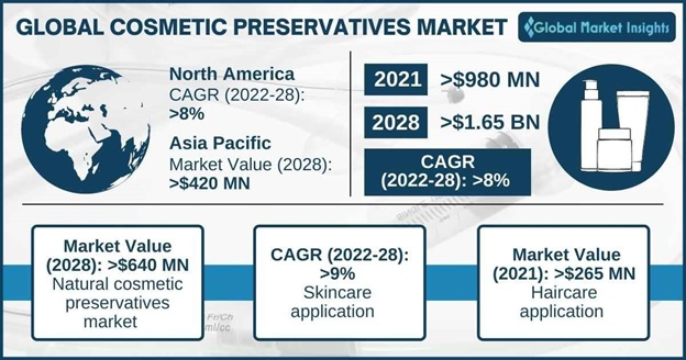 Cosmetic Preservatives Market Outlook