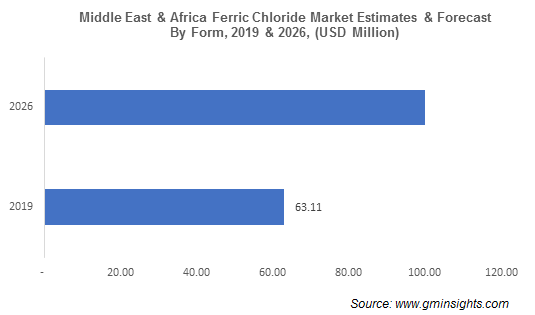 Middle East & Africa Ferric Chloride Market by Foam