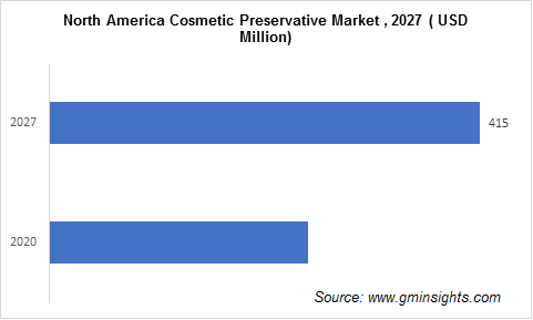 Cosmetic Preservatives Market by Region