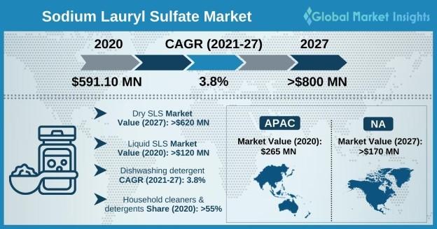 Sodium Lauryl Sulfate Market Outlook