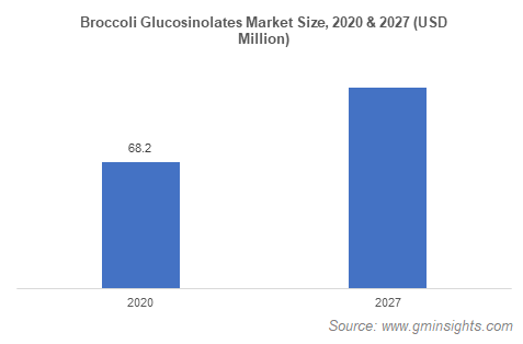 Broccoli Glucosinolates Market Size