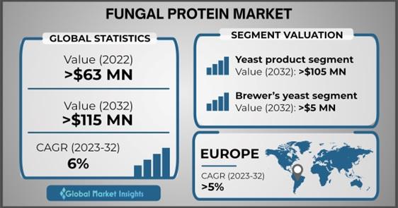 Fungal protein market