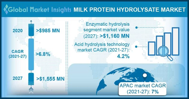 Milk Protein Hydrolysate Market