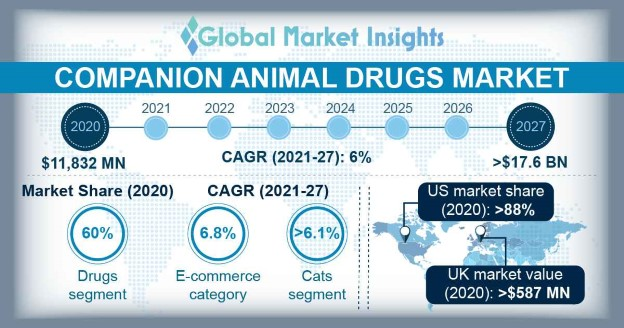 Companion Animal Drugs Market Overview