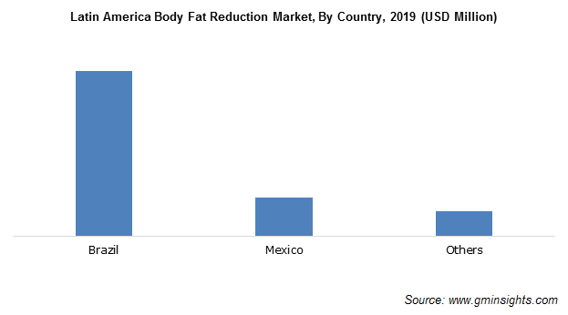 Latin America Body Fat Reduction Market By Country