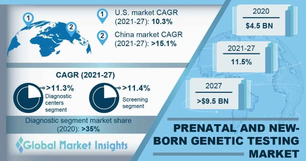 Prenatal and New-Born Genetic Testing Market Overview
