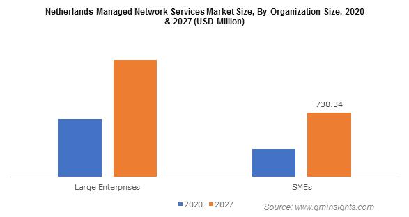 Netherlands Managed Network Services Market By Organization